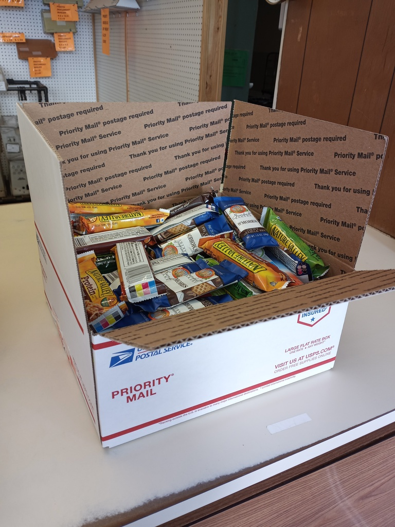 Care Package to our military personnel in Saudi Arabia
