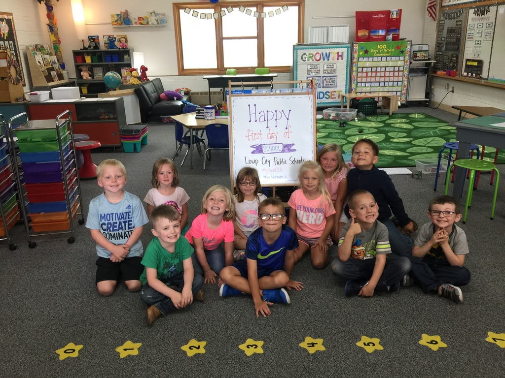 First day of Kindergarten! #Proud2bLC