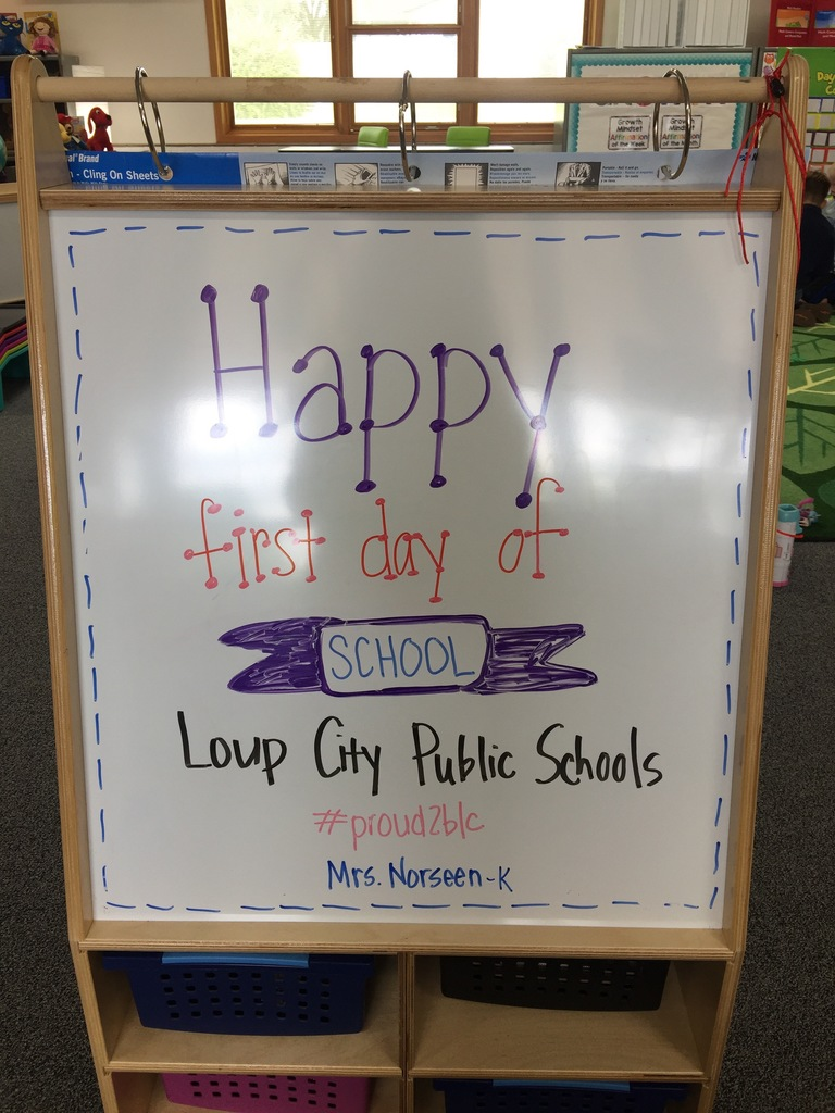 Happy First Day!