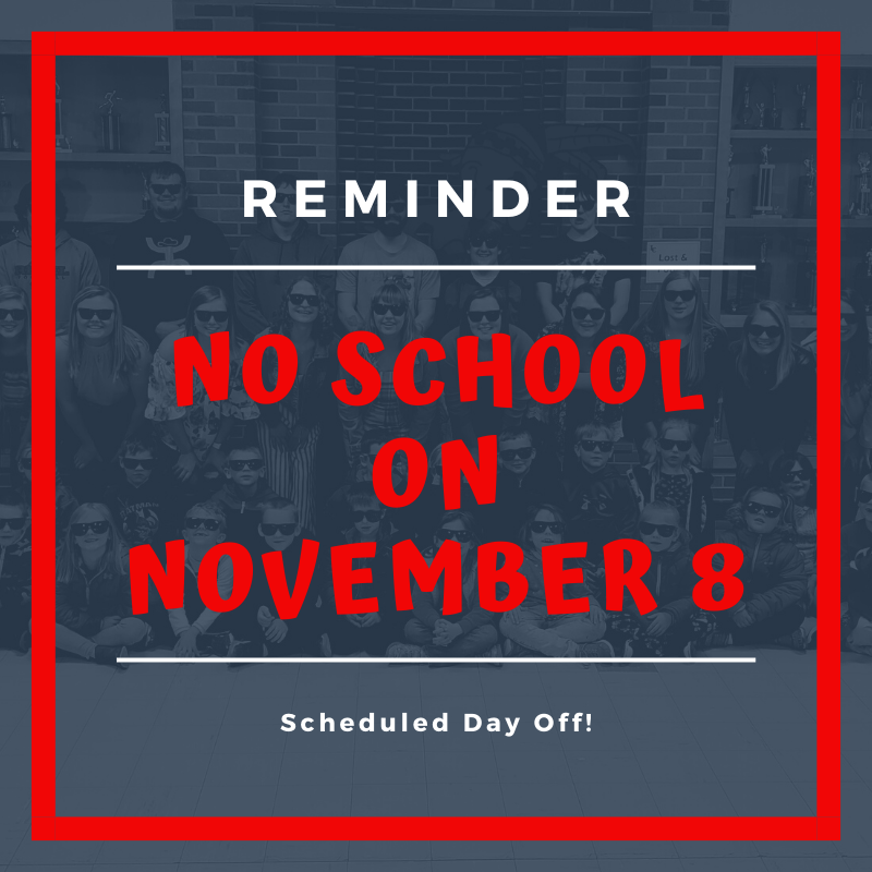 No School Nov 8