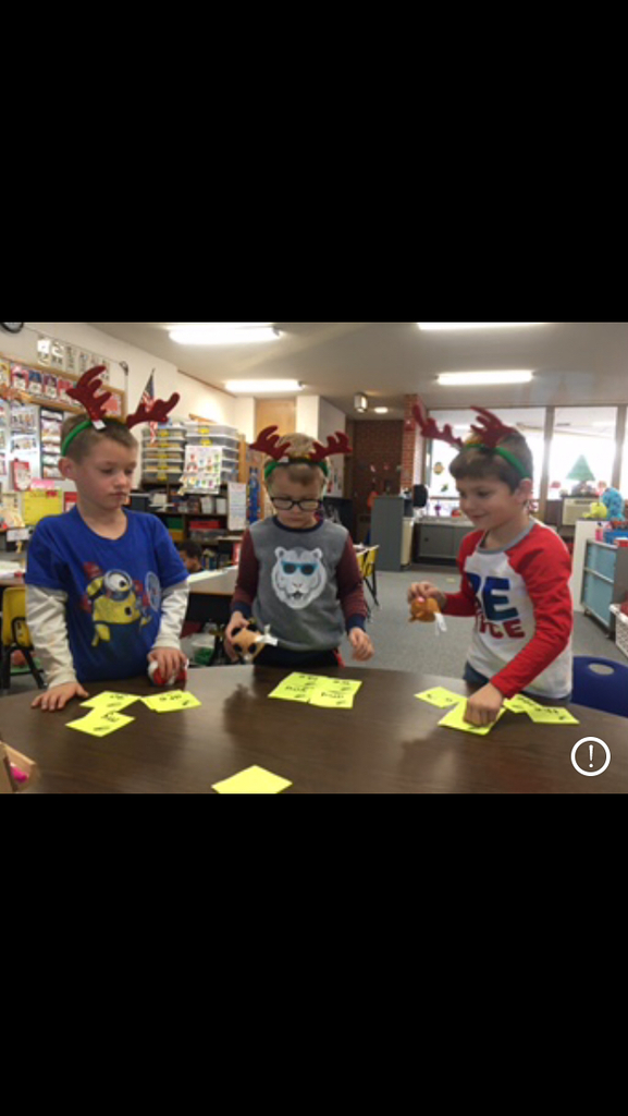 Kindergarten Holiday Fun! Happy Holidays Everyone!