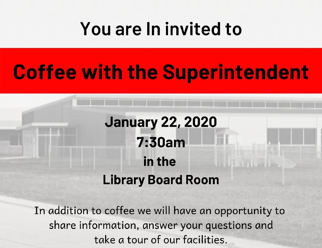 Coffee with the Supt