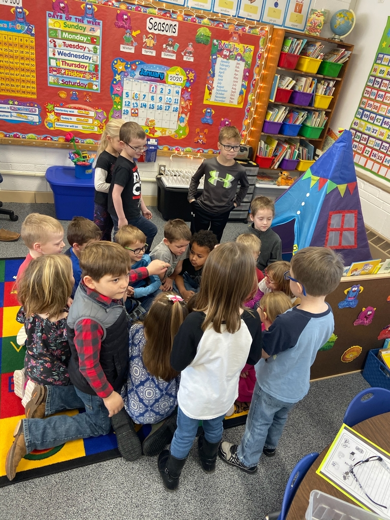 Kindergarten Fun with Show and Tell!