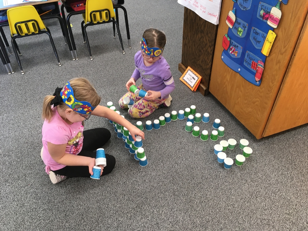 Look what can made with 100 cups!