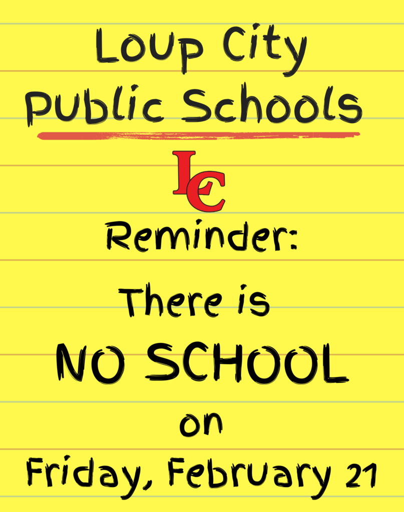 no school reminder