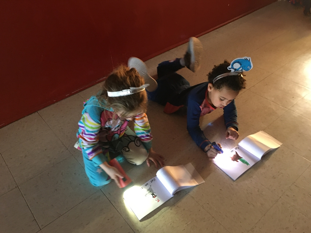 Flashlight Reading Fun Continues!